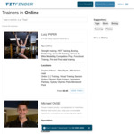 $50 off Online Personal Training 45m Sessions with Expert Qualified Trainers (Sessions from $10) @ Fit Finder