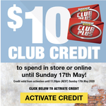 Free $10 Club Credit (SCA Membership Required) No Min. Spend @ Supercheap Auto