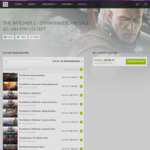 [PC] DRM-free - Witcher 3 5th Anniv. Sale e.g Witcher 3 GOTY $23.69/Normal Ed. $17.99 - GOG