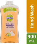 Dettol Foam Hand Wash Lime and Orange Blossom Refill, 900ml $7 (RRP $11.03) + Delivery ($0 with Prime/ $39 Spend) @ Amazon