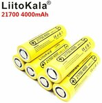 LiitoKala Lii-40A 21700 4000mAh Li-Ion Battery USD $4.68 / AUD $6.91. 18650 Avail. Delivered @ LiitokalaOfficialStore GearBest