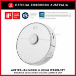 [eBay Plus] Xiaomi Roborock S5 Max AU $799.20 Delivered @ Official AU Roborock eBay Store