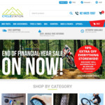 Extra 10% off Everything Storewide @ Cycle Station Online