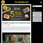 [WA] $5 Burritos & Bowls (22/07) 7AM-10PM @ Guzman Y Gomez (Westfield Carousel)