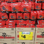 [NSW] Nongshim Shin Ramyun Noodle 5 Pack $4 @ Woolworths (Bass Hill)
