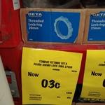 [NSW] DETA Threaded Lockring 20mm $0.03 (Was $0.05) @ Bunnings, Penrith