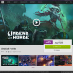 [PC] DRM-free - Undead Horde (rated 89% positive on Steam) - $9.09 (was $23.95) - GOG