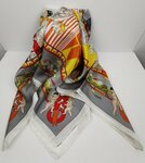 Italian Pure Unisex Silk Scarves $4.99 Delivered @ Luggage Online