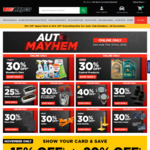 Auto Mayhem Sale @ Repco including 30% Off Bowden's Own & Castrol products, CTEK Battery Chargers and more