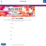 Win 1 of 5 Pairs of Skechers Street Uno Sneakers Worth $150 from Skechers