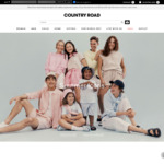 20% off Everything @ Country Road (Membership Required)