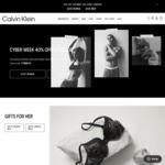 40% off Sitewide @ Calvin Klein