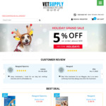 Black Friday Sale: Flat 10% off on All Products @ Vet Supply