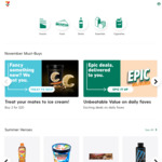 7 Eleven Free Delivery This Weekend SYD/MELB via Tipple