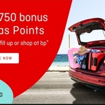 Bonus 750 Qantas Frequent Flyer Points for First Spend at BP Stations