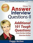 [eBook] Free - How to Answer Interview Questions - II (Additional 101 Tough Questions) @ Amazon AU/US