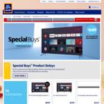 """Bauhn 58"""" 4K QLED TV $669, 6 Way Powerboard with USB C 30W PD $39.99, 30 Pk Batteries $4.99 @ ALDI"""