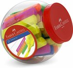Faber-Castell Textliner Ice Super Fluorescent Highlighters 25 Pieces $8.96 + Delivery ($0 with Prime / $39 Spend) @ Amazon AU