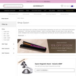 All Dyson Hair Tools 15% off (Supersonic $466.65 + Free Stand, Airwrap $679.15, Corrale $594.15) + Free Delivery @ Adore Beauty