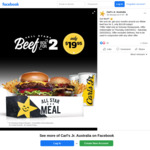 [VIC] Allstar Beef Box for 2 for $19.95 @ Carl's Jr