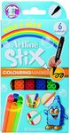 Artline Washable Stix Colouring Markers 6pk $3.09 + Shipping ($0 with Prime / $39 Spend) @ Amazon AU