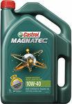 Castrol Magnatec 10W-40 Semi-Synthetic Engine Oil 5L $23.49 (Was $46.99) + Delivery (Free C&C) @ Supercheap Auto
