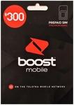 Boost $300 SIM Starter Kit $240 + Free Vodafone $30 SIM, Boost $200 SIM Starter Kit with150GB Data $160 Delivered @ Auditech