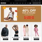 40% off Site Wide (Free Shipping for Members) @ Bonds, $5 Bonus Cashback (Min Spend $15) @ ShopBack (Activate via ShopBack App)