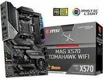 MSI MAG X570 TOMAHAWK Wi-Fi AM4 ATX Motherboard $279.65 ($273.07 with eBay Plus) Delivered @ Shopping Express eBay