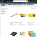 Up to 50% off Marbig Products (e.g. Fluorescent 30cm Ruler $0.97, x48 1 Hole Metal Pencil Sharpener $5.60 + More) @ Amazon AU