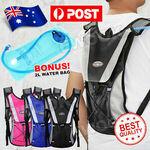 [eBay Plus] Hydration Pack Water Backpack 2L Bladder Bag $2.90 Delivered @ ewook2014 eBay