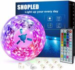 LED Strip Light 5m $10.78 + Delivery ($0 with Prime/ $39 Spend) @ YK-SHOPLED AU DIRECT via Amazon AU