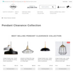 50% off Selected Pendant Lamps from $19.98 + Free Shipping @ Lectory