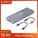 ORICO PRM2 M.2 NVMe USB-C 10Gbps SSD Enclosure US$10.99 (~A$15.16) Delivered @ Orico Official Store AliExpress