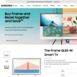 "Bonus Bezel with Samsung The Frame TV (65"" $1999 & Free Bezel Worth $150) & Free Delivery @ Samsung"