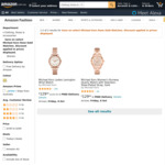 Michael Kors Women's Rose Gold Watches $129 Delivered @ Amazon AU