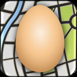 An App to Provide Google Maps for iPad: Eggmaps HD - Free Today
