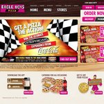 Great Meal Deals under $20 from Eagle Boys Pizza Add ONLY $5 for Delivery to Any Deal