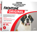 Frontline for XL Dogs 40-60kg 4 PACK $10 + $5.95 Shipping (RRP $46.95) @ Mammoth Pet Supplies