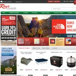 Rays Outdoors Double Your Credit - Earn up to 20% Credit 4 Days Only