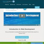 """Free """"Introduction to Web Development"""" Course from LearnToProgram, a $59 Value"""