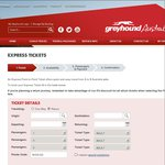 Express Coach Service between Canberra and Sydney @ $22 One Way from Greyhound Australia