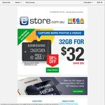 Memory Deals @eStore up to 65% off MicroSD and SD Cards
