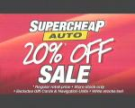 Super Cheap Auto 20% Off Storewide Sale This Saturday Only (25th July 2009)