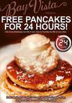 Free Pancakes on 25 June at Bay Vista Cafe (Brighton Le Sands, Sydney NSW)