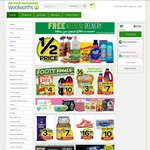 Woolworths Online 5% off + $10 off for New Users (Min $120)