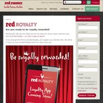 FREE $5 Red Rooster Credit & Birthday Meal for Registering to New Loyalty Program