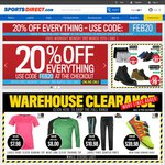 SportsDirect - 20% off Everything
