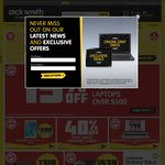 Dick Smith 15% off Already Reduced Items (First 500)