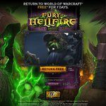 7 Days of Free World of Warcraft Game Time & 40% off Warlords of Draenor Exp ($32.97 Std Ed)